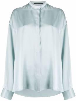 Haider Ackermann рубашка с воротником-стойкой 2032008125