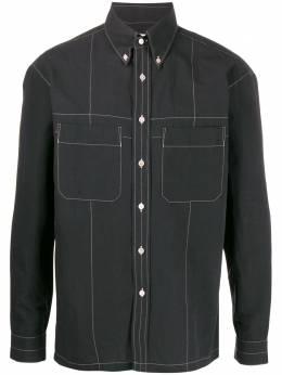 Lemaire джинсовая рубашка с нагрудными карманами M201SH148LF423