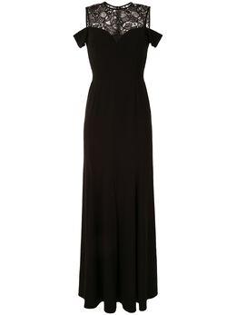 Paule Ka платье с кружевной вставкой 180R188L