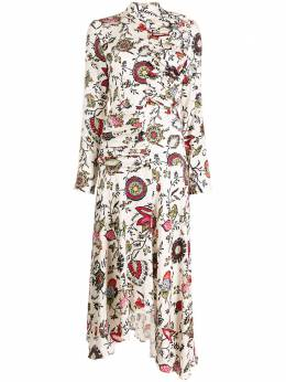 Materiel платье асимметричного кроя с драпировкой N788DRFL
