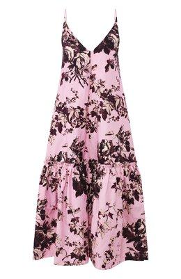 Хлопковое платье Dries Van Noten 201-11051-9050