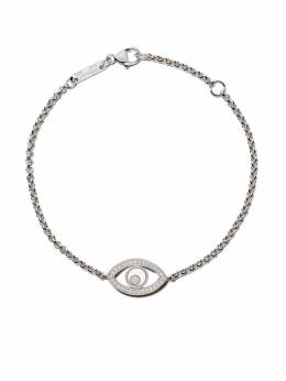 Chopard 18kt white gold Good Luck Charms diamond bracelet 8578631003
