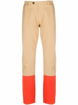 Frankie Morello брюки чинос в стиле колор-блок FMS0112PA4020M242