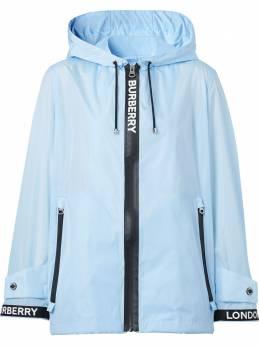 Burberry куртка ECONYL® с капюшоном и логотипом 8027533