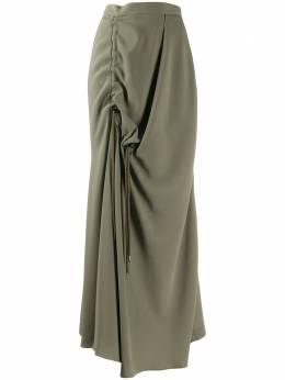 Chalayan юбка асимметричного кроя с драпировкой WQ201FQ424OV