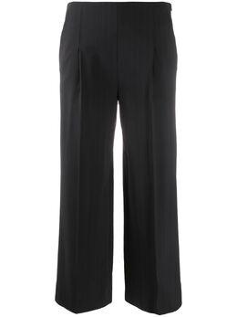 Chalayan укороченные брюки широкого кроя WQ301FQ111NS