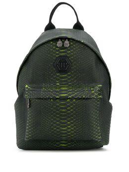 Philipp Plein рюкзак со змеиным принтом P20AMBA0883PLE029P