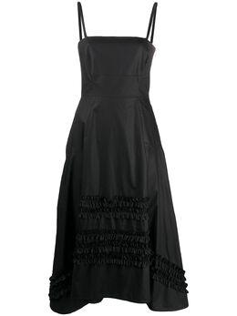 Molly Goddard платье А-силуэта со вставками 29FLAVIO
