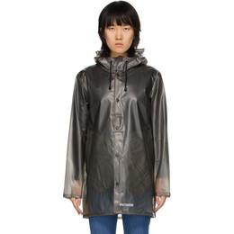 Stutterheim Grey Transparent Raincoat Stockholm Transparent
