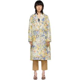 Nina Ricci Multicolor Floral Over Coat 20ECMA009PL0345