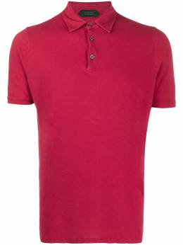 Zanone рубашка поло узкого кроя 812293ZJ397