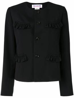 Comme Des Garcons Girl жакет с оборками NEJ002S20
