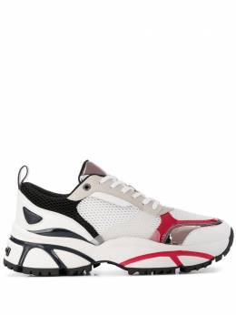 Michael Kors Collection кроссовки в стиле колор-блок 42S0ETFS2D