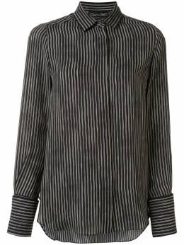 Oscar De La Renta полосатая рубашка на пуговицах 20RN739DPT