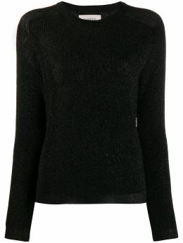 Laneus свитер с круглым вырезом и эффектом металлик MGD1264