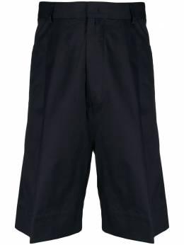 Maison Flaneur строгие брюки прямого кроя 20SMUPA120TC127