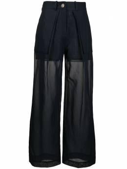 Eudon Choi многослойные брюки широкого кроя EC20S7P002CARMELA