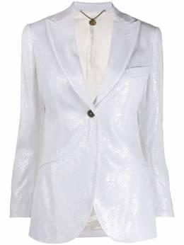 Maurizio Miri приталенный пиджак с пайетками PAT28071