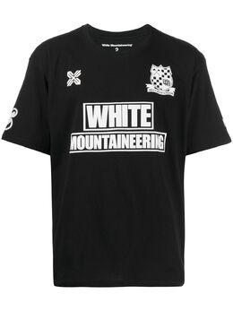 White Mountaineering футболка WM Football WM2071526