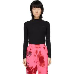 Kirin Black Open Back Bodysuit KWDD001S20JER0011072