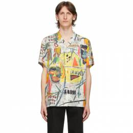 Wacko Maria Multicolor Jean-Michel Basquiat Edition Short Sleeve Shirt BASQUIAT-WM-HI02