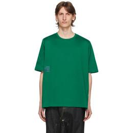 Fumito Ganryu Green Rebuilt T-Shirt Fu3-Cu-101