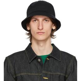 Fumito Ganryu Black Limonta Explorer Bucket Hat Fu3-Ac-101