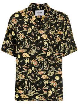 Carhartt Wip рубашка с принтом I027530