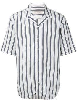 Cerruti 1881 полосатая рубашка с короткими рукавами C3966EO02094