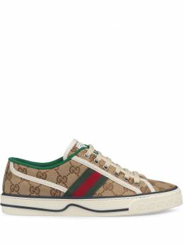 Gucci кроссовки 1977 с вышивкой Gucci Tennis 606110HVK20