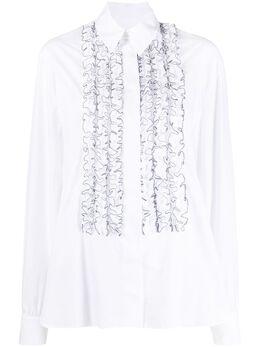 Alexandre Vauthier рубашка с оборками 202SH1251