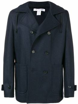 Comme Des Garcons Shirt Boys double-breasted hood coat W26911