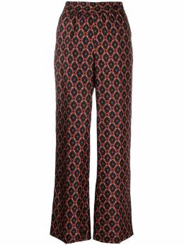 Alberto Biani брюки с геометричным принтом CC839SE3104
