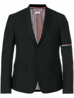 Thom Browne однобортный пиджак с высокими проймами и шелковыми лацканами MJC187C02872