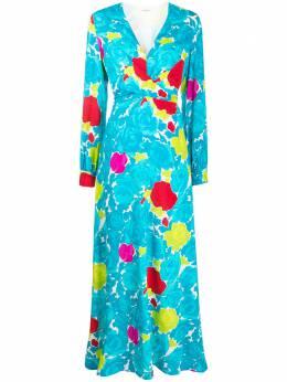 P.a.r.o.s.h. платье с цветочным принтом SOTTYD723211