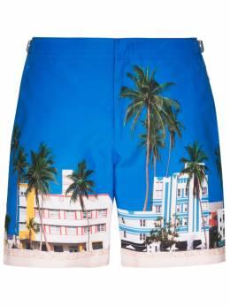 Orlebar Brown плавки-шорты с принтом Bulldog Ocean Drive 272121