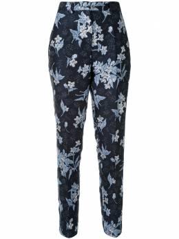 Delpozo брюки с принтом 4201510224