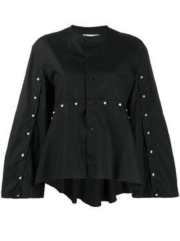 Comme Des Garcons Noir Kei Ninomiya блузка с искусственным жемчугом 3EB012S20