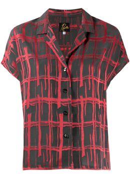 Needles блузка с цветочной вышивкой GL107