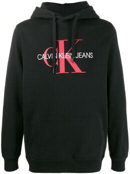 Calvin Klein Jeans толстовка с капюшоном и вышитым логотипом J30J314557