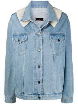 Simonetta Ravizza джинсовая куртка с контрастной вставкой JOVERM