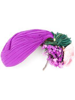 A.N.G.E.L.O. Vintage Cult шляпа 1940-х годов с цветочным декором ANGCL350E