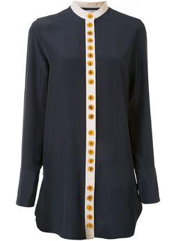Jil Sander рубашка оверсайз с круглым вырезом JSWQ606506WQ280900A
