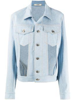 Zilver джинсовая куртка с вырезами SS20WJK01B