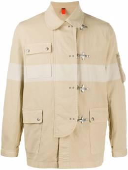 Fay куртка с застежками-карабинами NAM1940060TMG4C003
