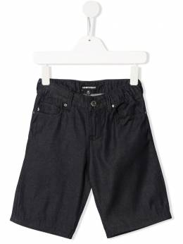 Emporio Armani Kids шорты с карманами 3H4SJA4D22Z