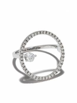 Delfina Delettrez золотое кольцо Bubble с бриллиантами TWI1003A