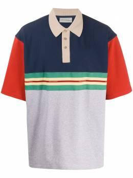 Drole De Monsieur рубашка поло в стиле колор-блок с логотипом SS20SH014