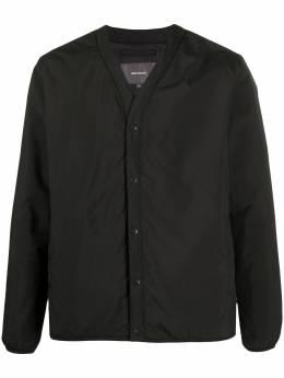 Norse Projects куртка с V-образным вырезом N500161