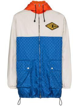 Gucci куртка с капюшоном и логотипом 522619Z452L